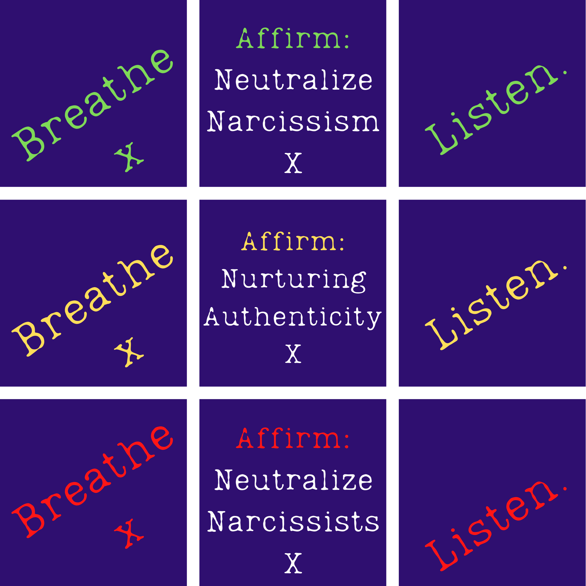 Neutralizing Naughty Narcissists: Brainstorming a Radically Transformative Behavioral Therapy Featuring DemiPhase