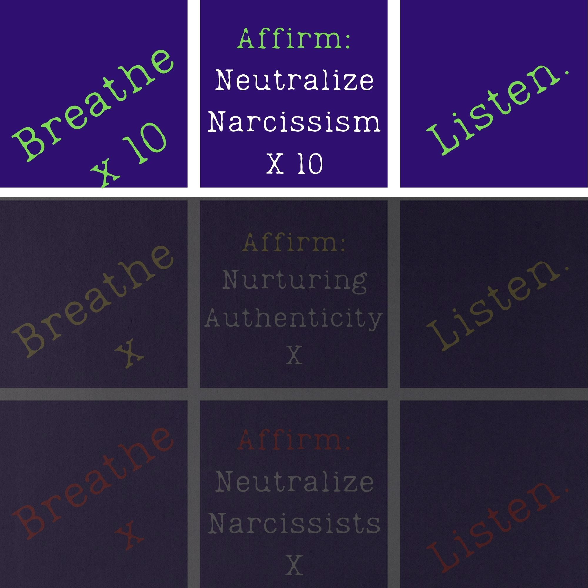 """""""Neutralizing Narcissism"""": Level One of the """"Neutralizing Naughty Narcissists"""" Transformative Behavioral Therapy"""